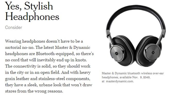 Lộ diện tai nghe không dây MW60 của Master&Dynamic