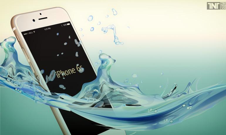 iPhone, iPad sắp chống được nước bằng sóng âm và điện tích?