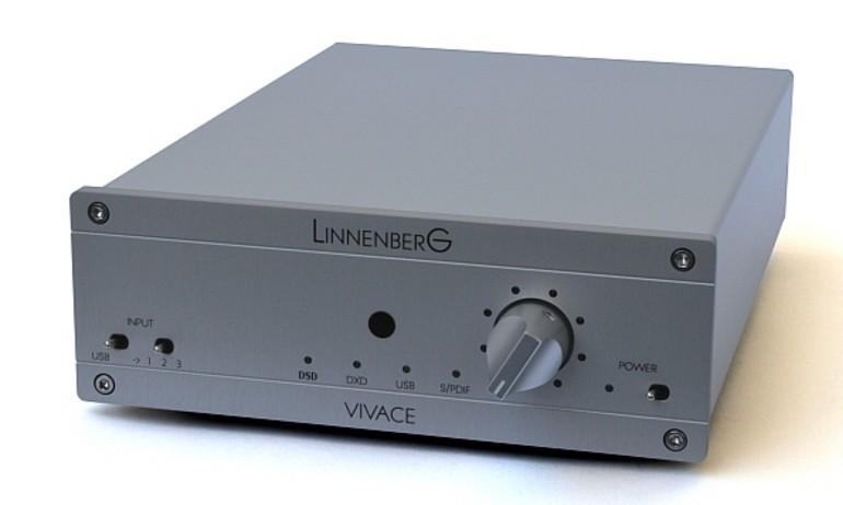 Linnenberg giới thiệu Vivace 2, giải mã DSD 512/DXD 352.8 kHz