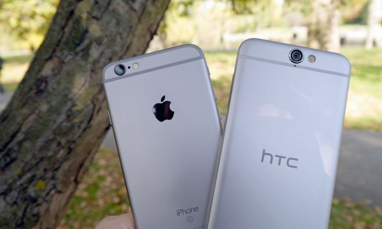 """HTC """"dụ"""" người dùng bán lỗ iPhone 6S Plus, đổi lấy One A9"""