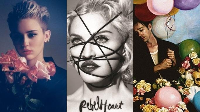 """10 """"quả bom xịt"""" của làng nhạc quốc tế 2015"""