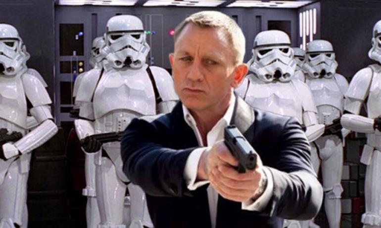 """Điệp viên 007 bị giáng chức làm binh tốt trong """"Star Wars 7"""""""