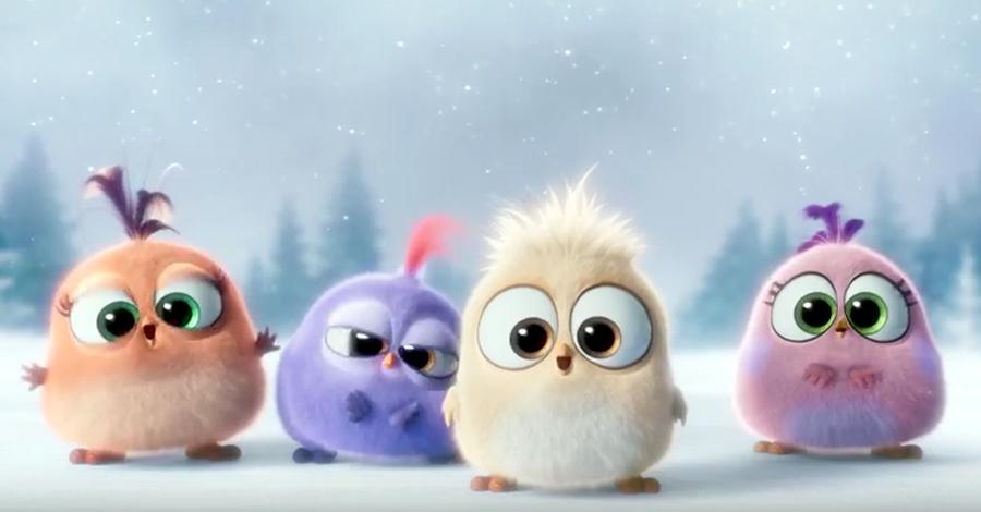 Gặp thế hệ F1 cực đáng yêu của The Angry Birds Movie