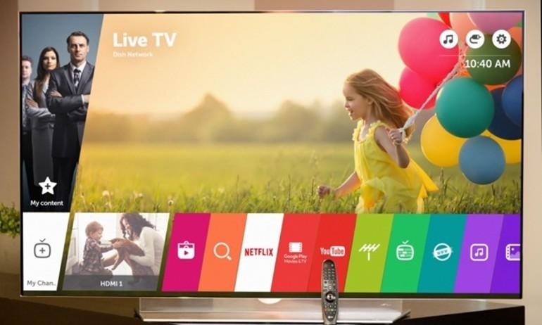 TV LG WebOS 3.0 tập trung vào độ tiện dụng và dễ thao tác
