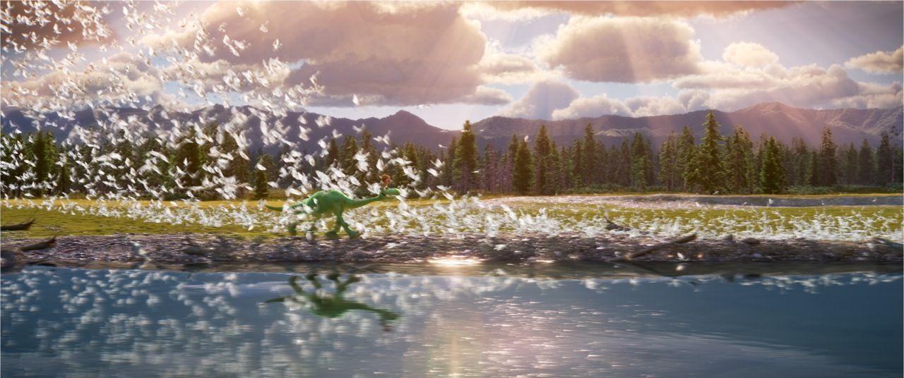 """Tiết lộ hậu trường """"khủng"""" của The Good Dinosaur"""