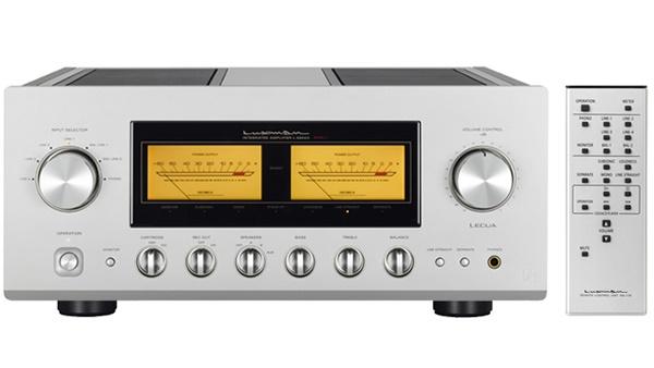 Luxman giới thiệu ampli tích hợp đầu bảng L-590AXII, giá 7.000 bảng Anh