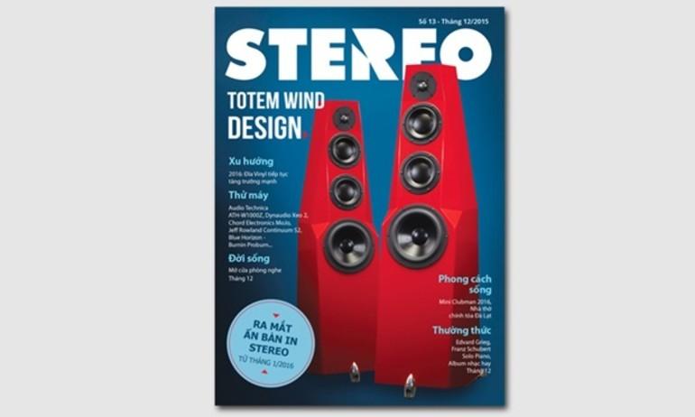 Stereo phát hành tạp chí số 13 (tháng 12/2015)