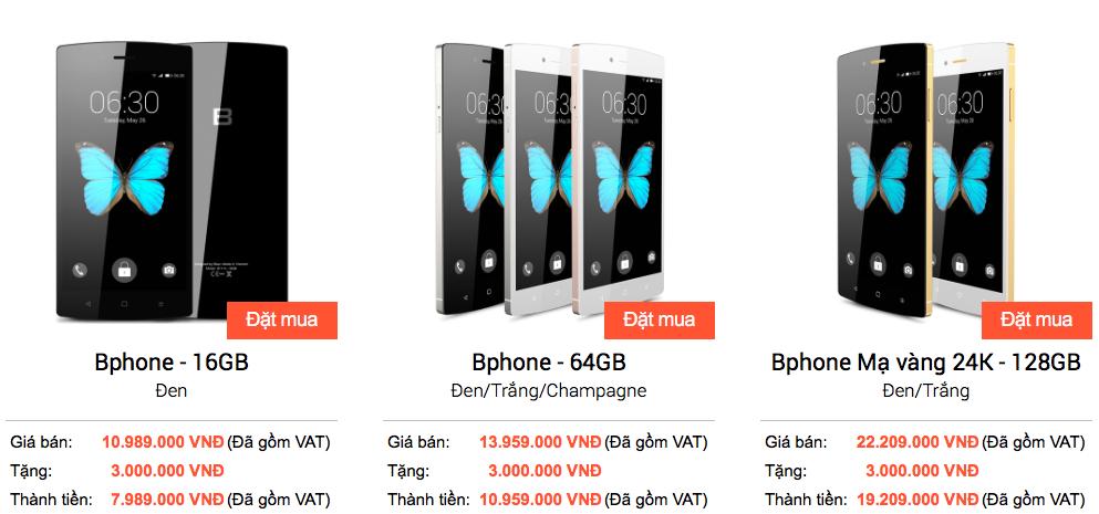 BKAV bất ngờ giảm giá mạnh cho Bphone