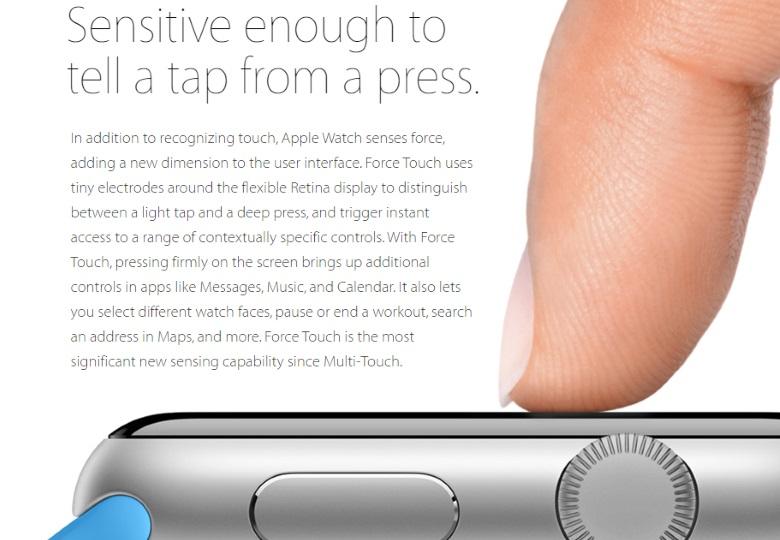 Màn hình Force Touch sẽ là xu hướng mới của năm 2016