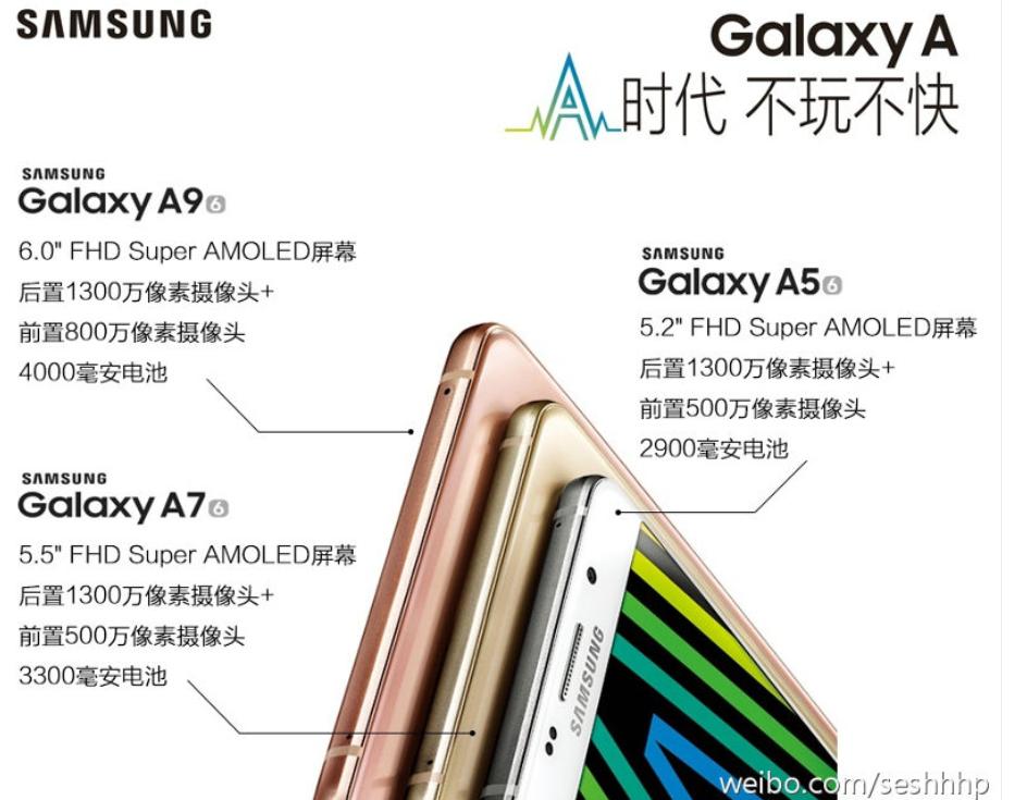 Galaxy A9 ra mắt: Snapdragon 652, màn hình 6 inch, pin khủng