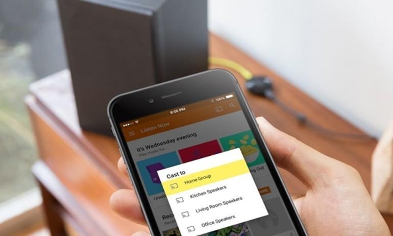 Google Chromecast Audio cập nhật: chơi nhạc hi-res và multi-room