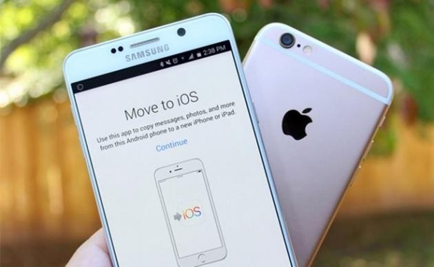 Lượng người dùng Android chuyển sang iOS tăng kỉ lục