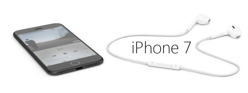 Ngắm ý tưởng iPhone 7 không cổng tai nghe và đường nhựa xấu xí
