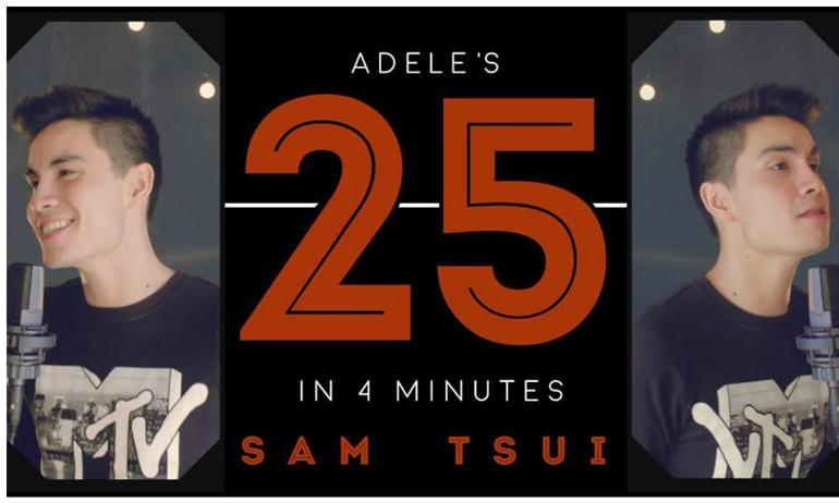 Nghe Mash-up album 25 của Adele trong vỏn vẹn 4 phút