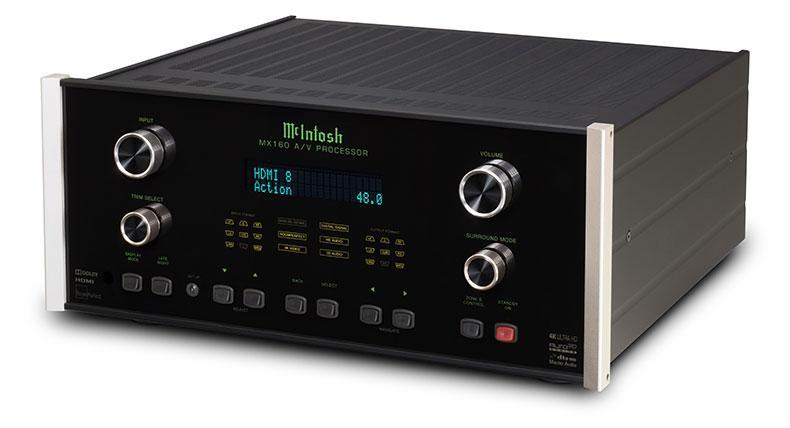 McIntosh giới thiệu receiver xem phim MX160, giá 14.000 bảng Anh