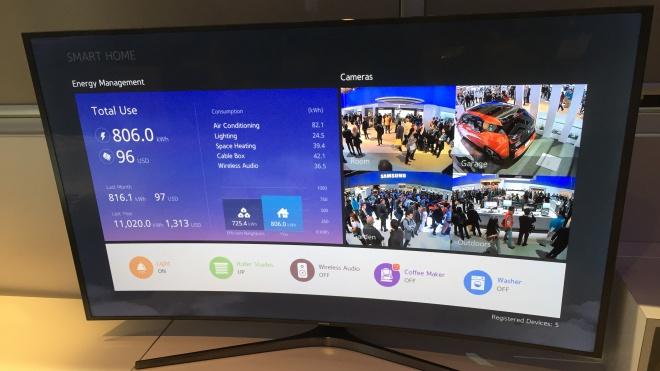Samsung: trong năm 2016, TV sẽ là trung tâm điều khiển nhà thông minh
