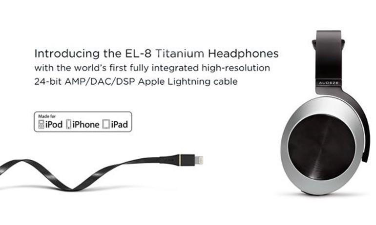Audeze ra mắt tai nghe EL-8 Titanium dùng cáp Lightning cho iPhone