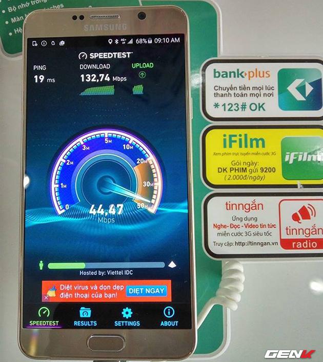 Dùng thử 4G tại Vũng Tàu: Tốc độ 16MB/s, giá không đổi