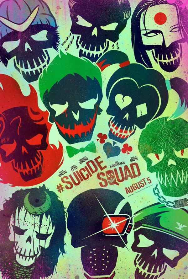 """Các ác nhân của """"Suicide Squad"""" tưng tửng và quái đản"""