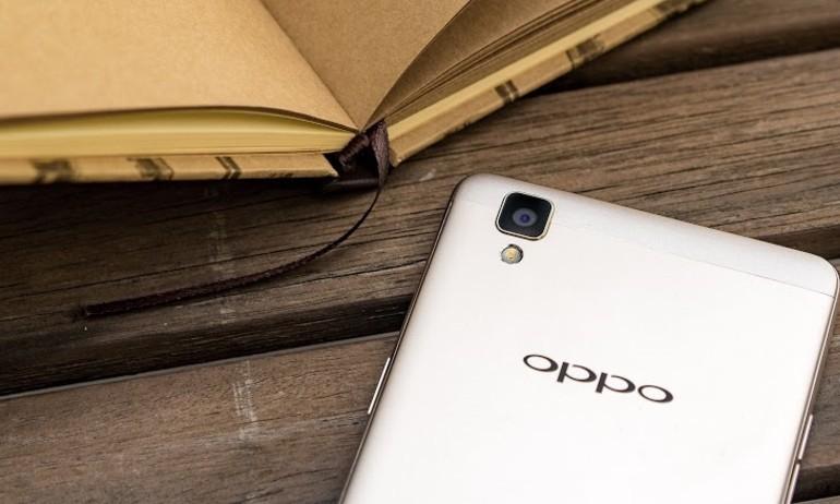 OPPO F1 lên kệ: Chụp ảnh chuyên nghiệp, thiết kế đẹp, giá 6,5 triệu