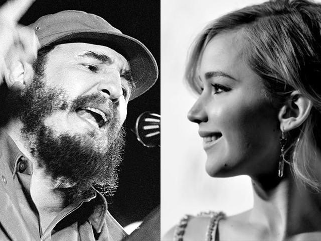 Jennifer Lawrence hóa thân người tình Fidel Castro trong phim mới