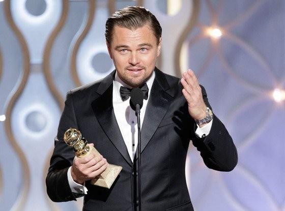 Leo DiCaprio và Lady Gaga gây chú ý nhất tại Quả Cầu Vàng 2016