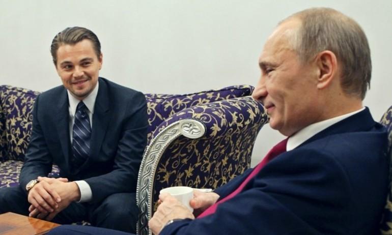 Leonardo DiCaprio muốn hóa thân thành Tổng thống Putin