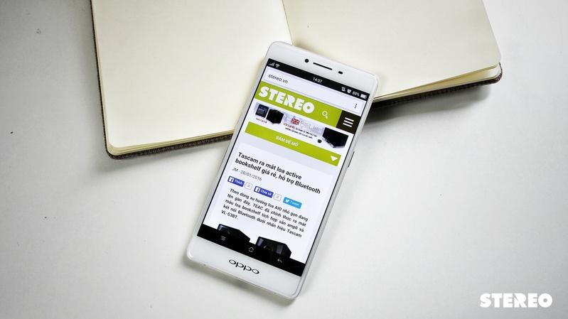 OPPO R7s: Thiết kế cao cấp, trải nghiệm tầm trung