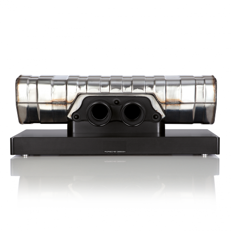 911 Soundbar: Bộ loa ấn tượng chế từ ống xả ô tô của Porsche