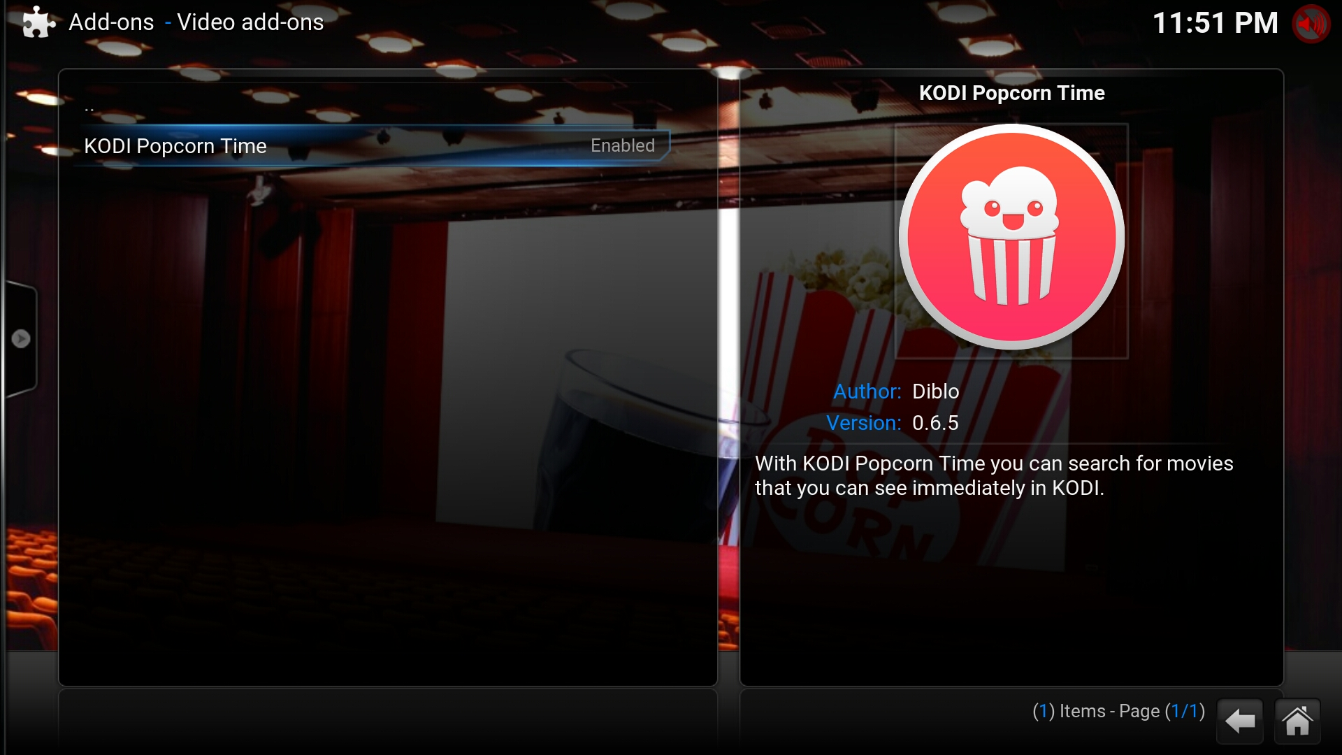 KODI Popcorn Time: Add-on xem phim cực hot cho Android TV Box