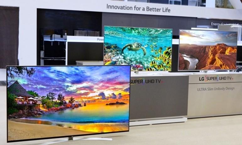 LG ra mắt dòng TV đầu bảng mang tên Super UHD