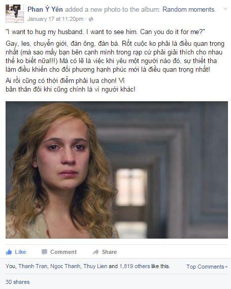"""""""The Danish Girl"""": Phim dự Oscar ăn khách nhất rạp Việt"""