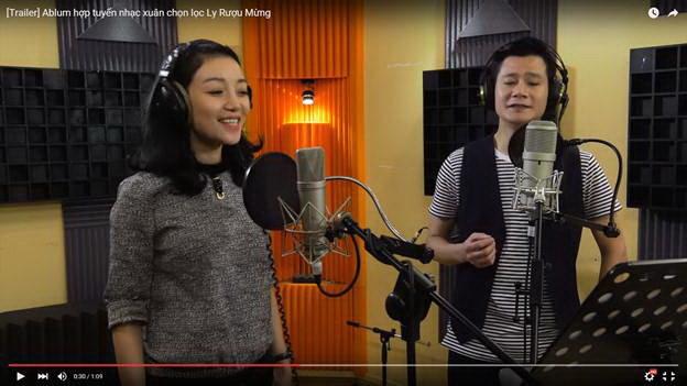 """Thu Hà, Quang Dũng """"tái sinh"""" ca khúc """"Ly rượu mừng"""""""