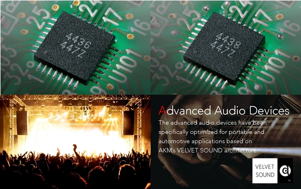 AKM ra mắt bộ đôi chip DAC đa kênh mới dành cho xe hơi