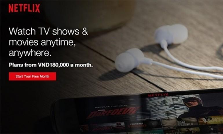 [CES 2016] Netflix chính thức mở xem phim online tại Việt Nam, miễn phí tháng đầu
