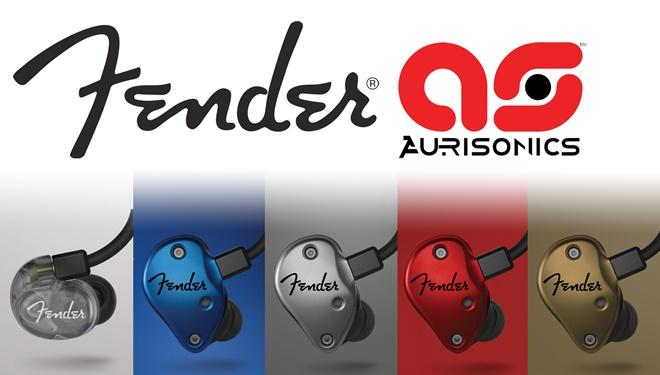 Hãng guitar Fender mua lại thương hiệu tai nghe Aurisonics
