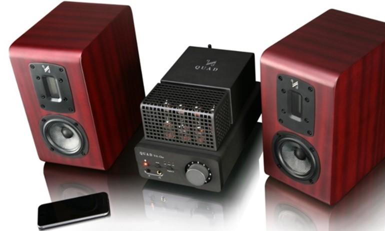Quad giới thiệu ampli đèn chân không VA-One, tích hợp DAC 24-bit