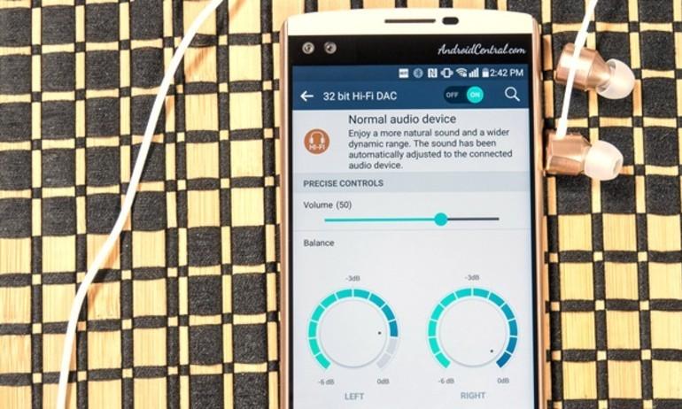 DAC Fix: cho phép LG V10 chơi nhạc Hi-Fi trên mọi ứng dụng
