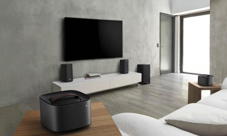 [CES 2016] Philips Fidelio E6: biến hóa linh hoạt từ loa 5.1 sang stereo