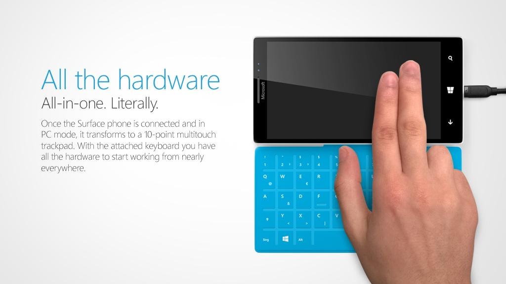 Rò rỉ ý tưởng Surface Phone với cover kiêm màn hình phụ