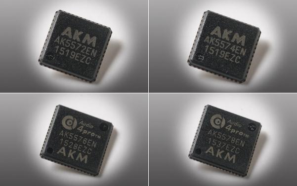 AKM ra mắt loạt ADC mới – AK557x series, hỗ trợ mã hóa DSD