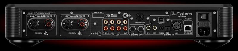 Lộ diện Bel Canto ACI 600 – ampli tích hợp DAC/preamp/Phono đa năng siêu nhỏ gọn