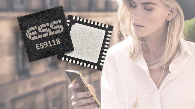 ESS Technology ra mắt ES9118, chip DAC hỗ trợ DSD dành cho smartphone