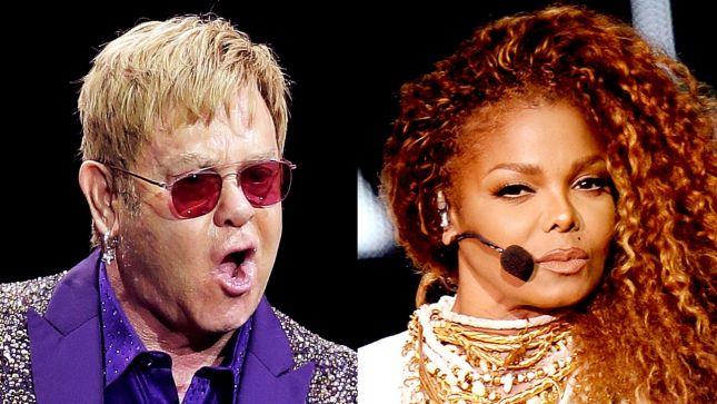 "Elton John đá xéo ""tài"" hát nhép của Janet Jackson"