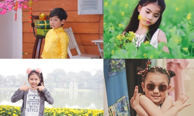 Sao nhí Việt nối đuôi nhau ra mắt MV đón Tết