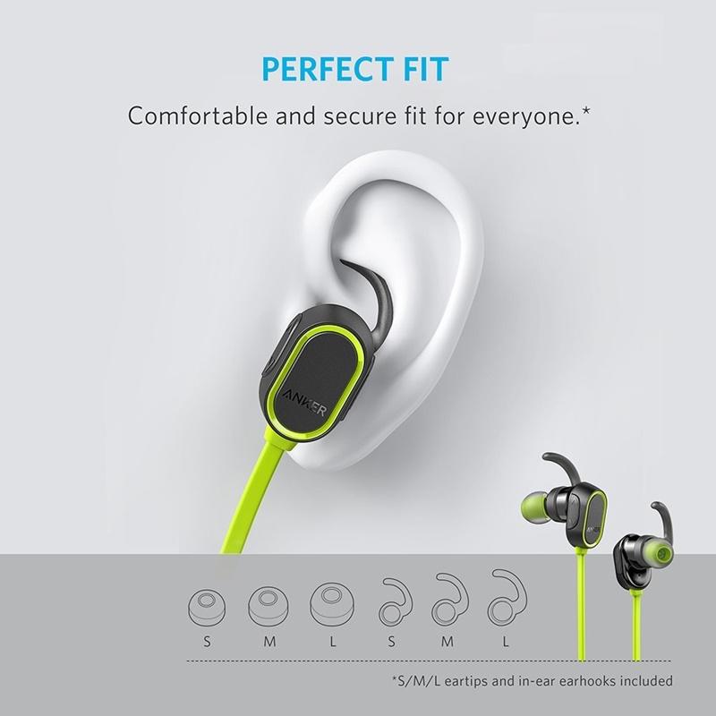Anker ra mắt SoundBuds Sport, tai nghe Bluetooth chống nước giá siêu rẻ