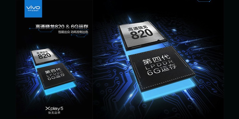 Vivo hé lộ smartphone RAM 6GB nhanh hơn cả iPhone 6S