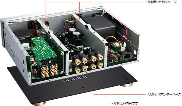 Pioneer giới thiệu cặp đôi DAC/ampli tích hợp A-70DA và A-50DA