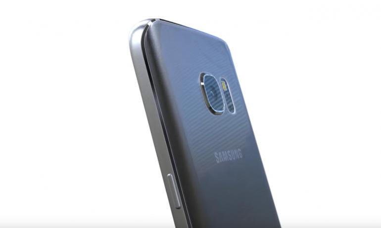 Galaxy S7 lộ ảnh tại Việt Nam: camera hết lồi, mặt lưng cong