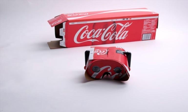 Coca-Cola làm video hướng dẫn tạo kính VR tái chế từ… hộp giấy